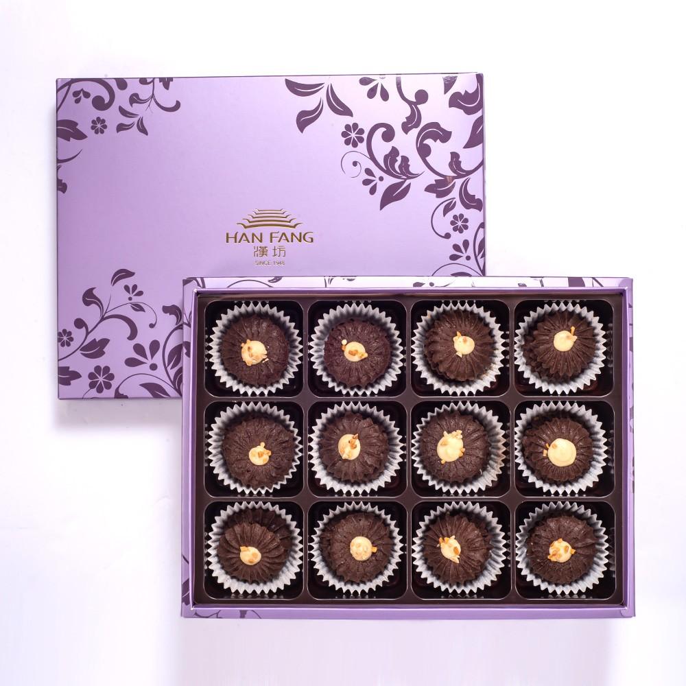 【臻饌】雲朵曲奇-優格巧克力12入禮盒