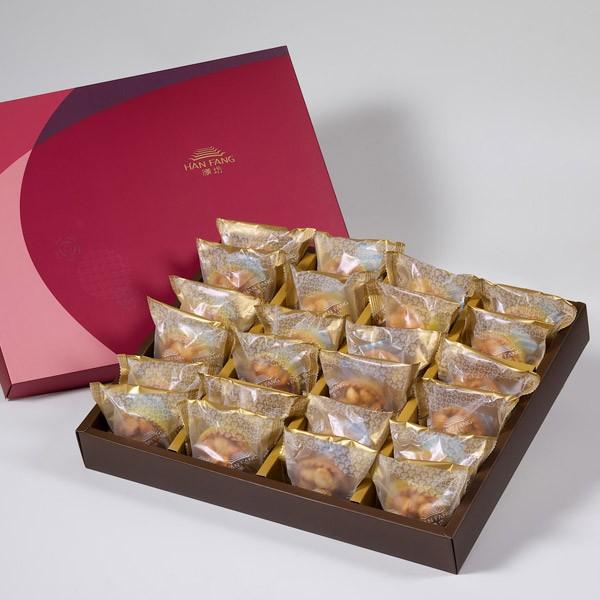【金饌】夏威夷豆堅果塔24入禮盒(蛋奶素)