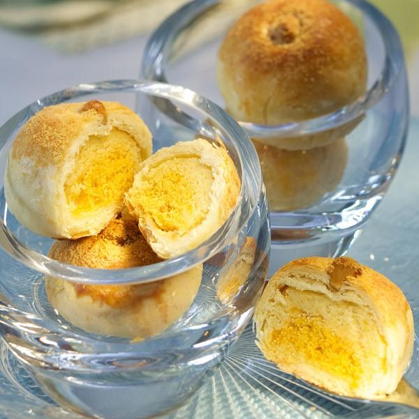 漢坊鬆軟綿密鹹香撲鼻【金沙弄月】蛋奶素