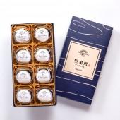 【御點】雲朵曲奇-優格巧克力8入禮盒(不織布袋)