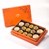 【御藏】綜合13入禮盒★綠豆椪*2+純綠豆椪*2+南洋咖哩酥*9