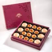 【金饌】綜合18入禮盒★綠豆椪*3+純綠豆椪*3+蛋黃酥*12