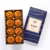【御點】辣味夏威夷豆堅果塔8入禮盒(不織布袋)