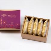 【典藏】黑糖酥5入禮盒(蛋奶素)