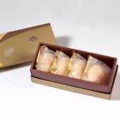 【御點】純綠豆椪4入禮盒(蛋奶素)