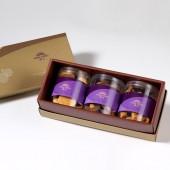【御點】手工餅乾綜合3入禮盒★原味杏仁+杏仁巧克力+杏福燒手工餅乾(蛋奶素)